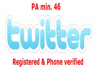 Provide High PA Expired Twitter Profile