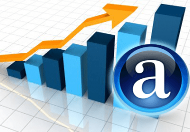 ONE-TIME OFFER - Boost your Alexa Ranking below 999,000