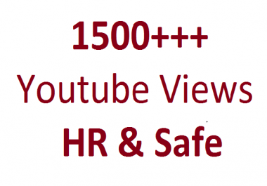 Best Way To Get 1000 To 1500 Non Drop promotion On Your YouTube Video