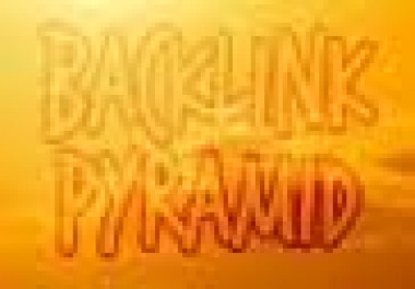 make backlinks pyramid of over 300 PR4+ tier1 social media, profiles and 5000 blog comments tier2.