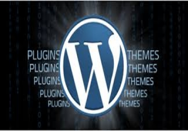 install Wordpress and free Elegant Theme of your choice..*/..