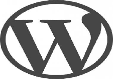 install wordpress with installation of basic wordpress plugins..
