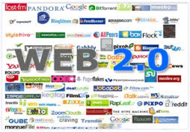 create over 50 High Pr Web 2,0 Profile Backlinks to your Website, Blog or Video...