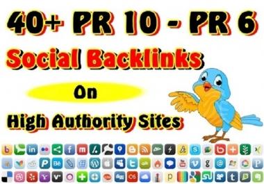 Bookmark your Website in 30 PR5 to PR9 Social Bookmarking sites.