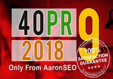[Best Sell-2017]- I will manually do 40 PR9 Safe SEO High Pr Backlinks 2018 Best Results