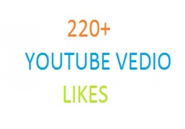 add 220 + High Quality Active YouTube Video Iikes,