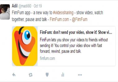 I will Tweet your company details incl weblink; via my 15 Twitter Accounts