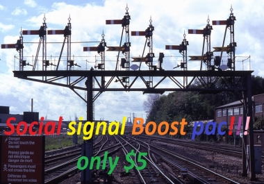 4,500+ PR9-PR10 SOCIAL SIGNALS Powerful Pack from the 2 BEST Social Media websites to any link only