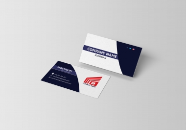 I will give 1 Business Card only