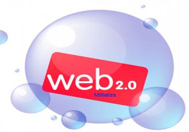 i'll Create You 20+ PR10 to PR8 Web 2.0 Account