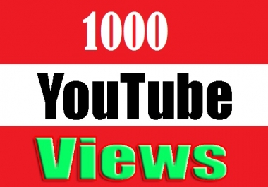 super fast 1000+ High RETENTION YOUTUBE Views + 100 likes