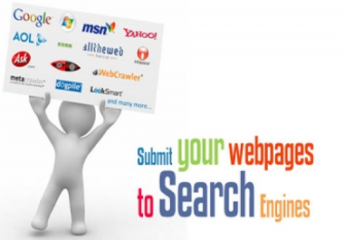 Search Engines Submission - Submit URL To Top 100+ Search Engine Directories