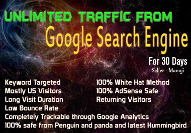 Drive Unlimited Traffic From Google Search Engine