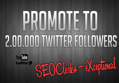 promote Youtube Video To Get VIRAL Audience through twitter promotions