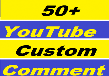50+ YouTube Custom Comments Or 400+ YouTube Likes Give You in 24-50 Hours