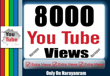 Get 8000 High Quality Views Fully safe Instant Start