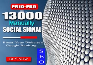 Best Offer 13000 Manually Top seo social signals Weblikes Googleplus Linkedin Pinterest