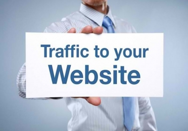 UNLIMITED HUMAN TRAFFIC BY Google Twitter Youtube and many more to web site for 2 days