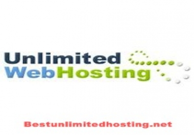 Unlimited web hosting one year