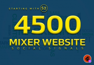 boost your website with 4500+ POWERFUL Social Signals from only HIGH PR Backlink Websites
