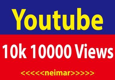 10000-12k High Retention Youtube Vie ws Fully safe Non Drop Lifetime Refile Guaranteed