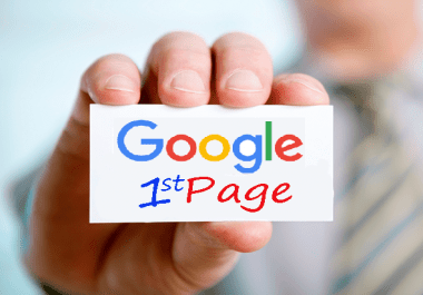 Website Ranking - Rank Website on 1st page of Google Search Engine