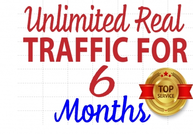 Unlimited TARGETED real human Website TRAFFIC for 6 months BY Google Twitter Youtube