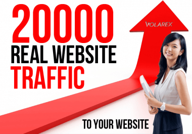I will increase your website real traffic by 20k from twitter or social media network