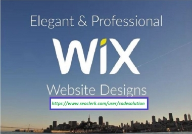 Instant Redesign or Create Professional Dynamic Wix Website