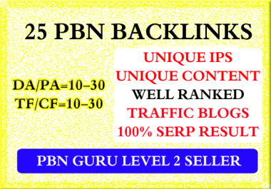 Do 25 Homepage Pbn Backlinks High Tf Cf Da Pa Private Blog Network