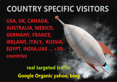 Bring unlimited web traffic targeted from Germany,uk,aus,france,usa,uae,norway