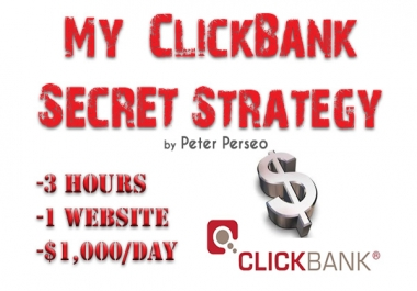 teach you how to earn 1000 dollars daily from CLICKBANK as a newbie