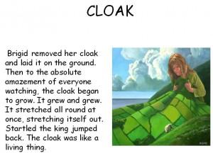 St. Brigid's Cloak
