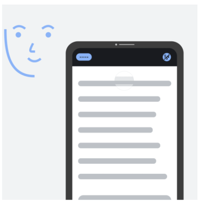 Google Voice Access does not work if the user is not looking at the screen