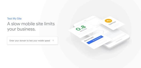 Скорость загрузки мобильных сайтов