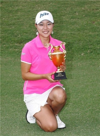 Hee Kyung Seo with her third straight win on tour
