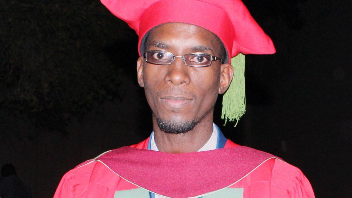 Congratulations Dr Thabo Sacolo
