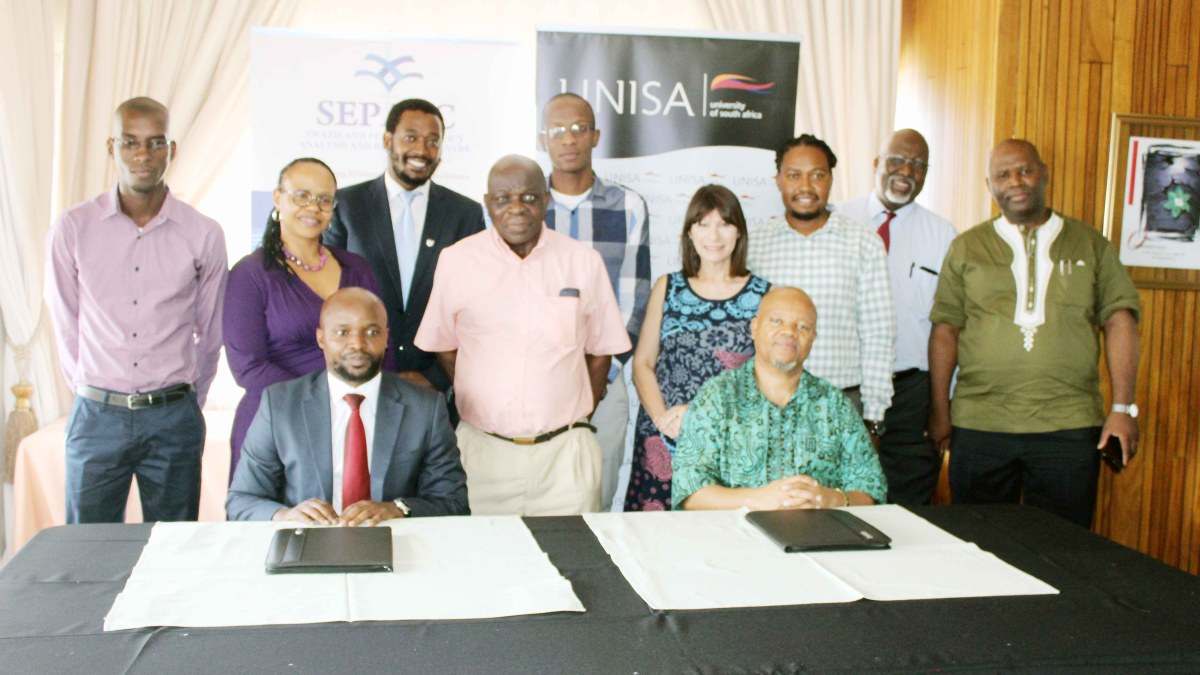 ESEPARC signs MoU with UNISA School of Governance