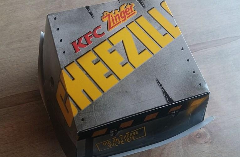 Menu KFC Malaysia Cheezila Yang Bergetah… Aummmm