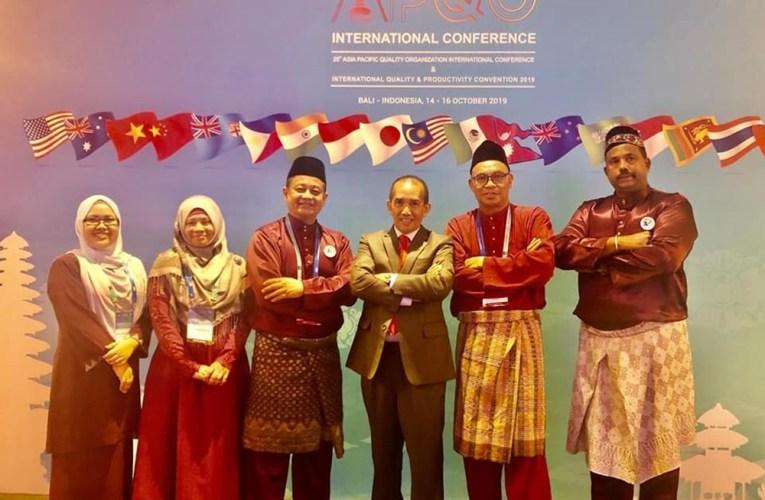 Delegasi Tourism Productivity Nexus Terima Anugerah Penarafan Tertinggi 3 Bintang Bagi Program ITB Di Bali, Indonesia