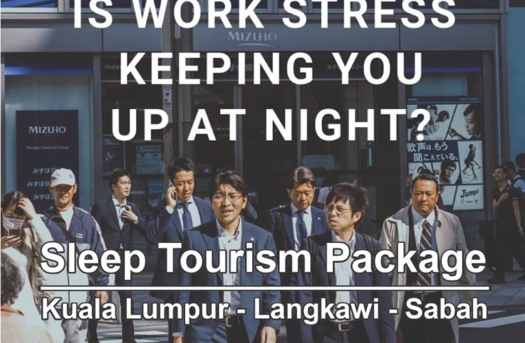Dr Louis Adaikalam Bringing Sleep Tourism From Malaysia To Osaka Promoting KL, Sabah and Langkawi