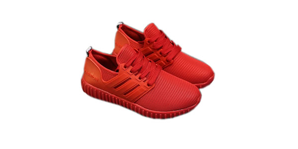 Joy Flat Shoes Casual Shoes Breathable Coconut Red