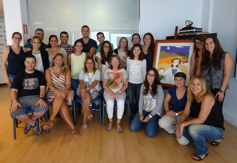 Foto de familia 81º Edición del Curso de Terapéutica Pediátrica