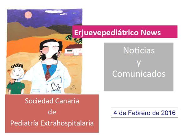 "Jueves Pediátrico ""news"" febrero 2015"