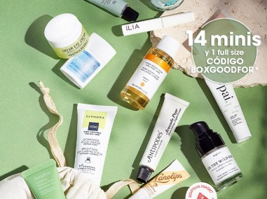 6 mini products offered!