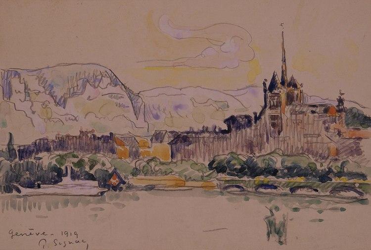 Geneva by Paul Signac