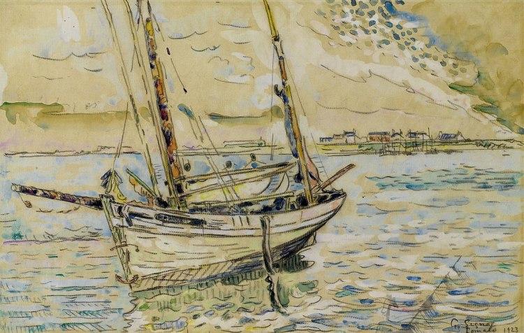 boat by Paul Signac