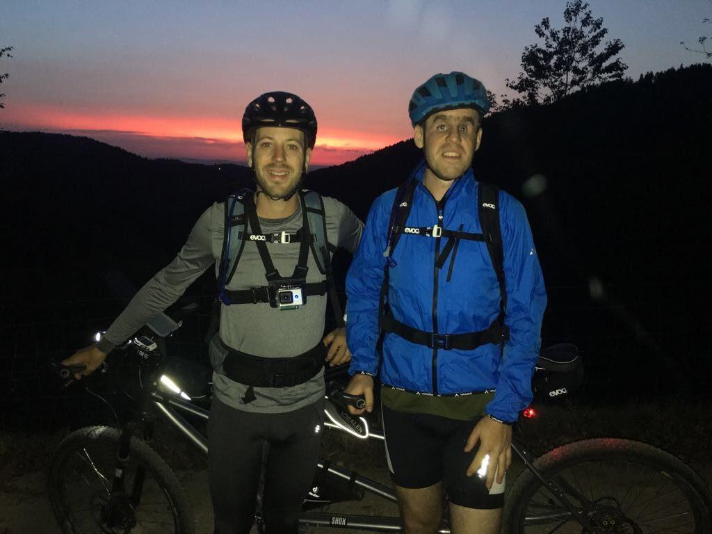 Tobi und Sepp auf der 5-Gipfel-Tour