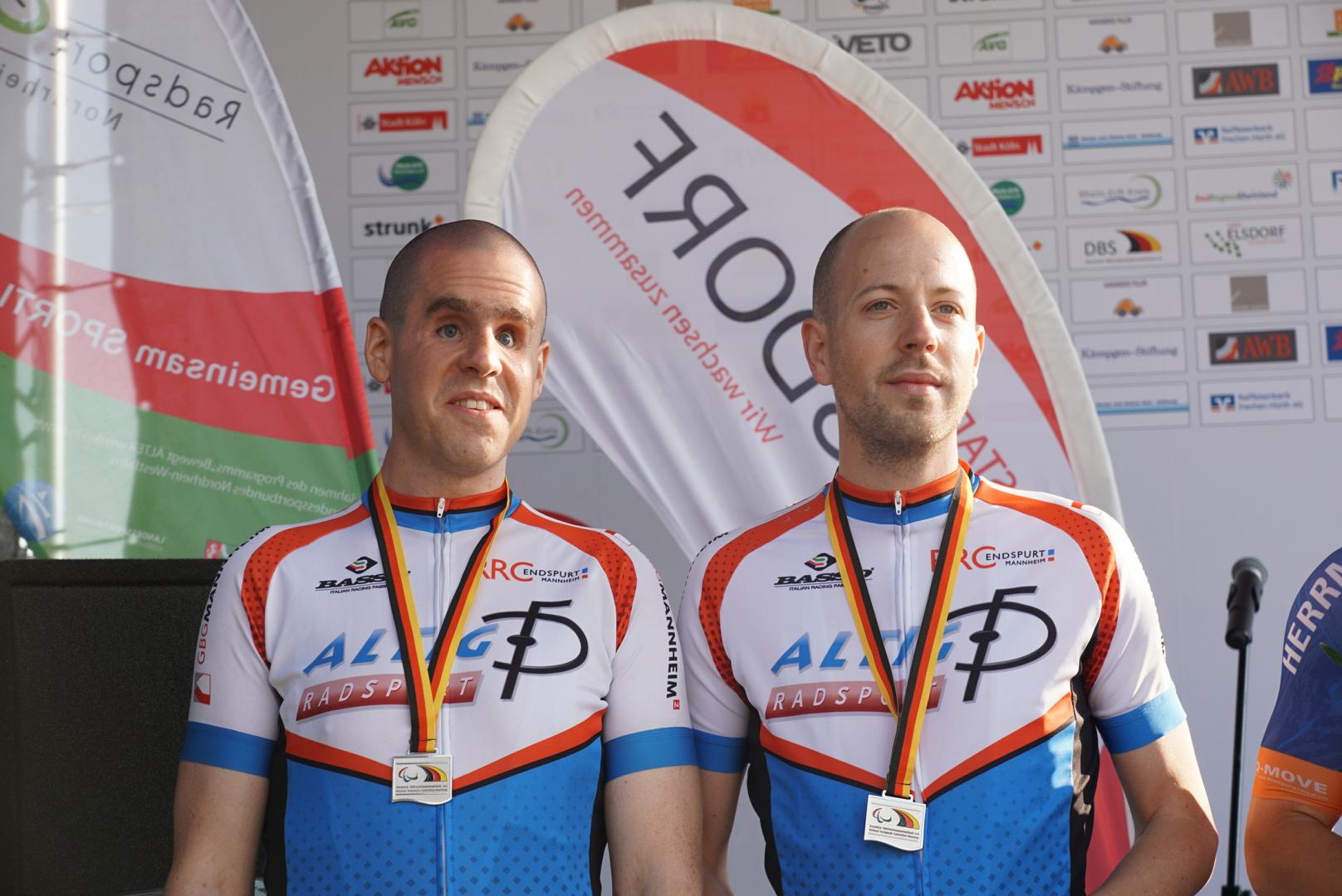 Sepp und Tobi mit Silber im TT