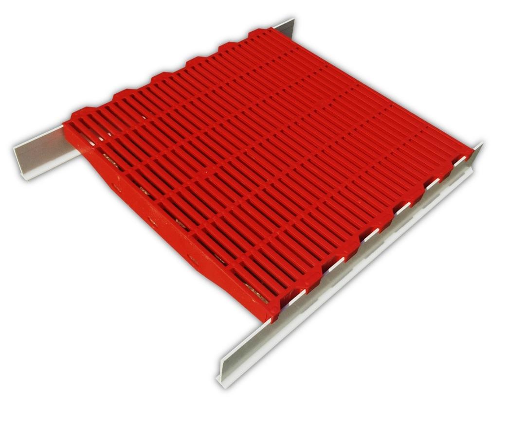 Estrado PVC + Barras Fibra